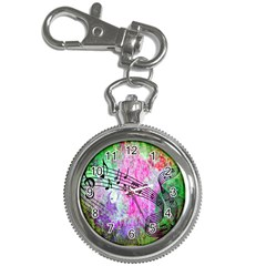 Abstract Music  Key Chain Watches