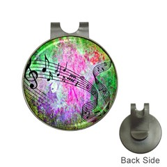 Abstract Music  Hat Clips With Golf Markers