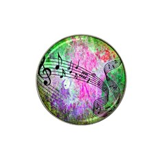 Abstract Music  Hat Clip Ball Marker (4 Pack)
