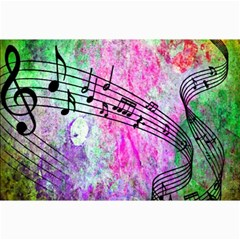 Abstract Music  Canvas 12  X 18