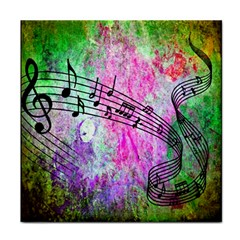 Abstract Music  Face Towel