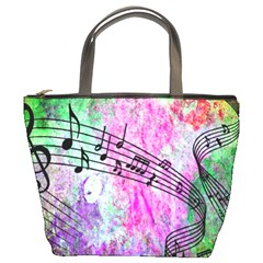 Abstract Music  Bucket Bags
