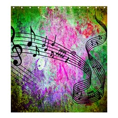 Abstract Music  Shower Curtain 66  x 72  (Large)