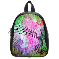 Abstract Music  School Bags (small)