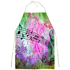 Abstract Music  Full Print Aprons