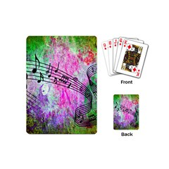 Abstract Music  Playing Cards (mini)