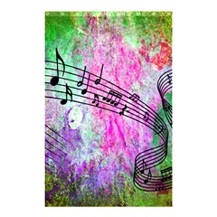 Abstract Music  Shower Curtain 48  X 72  (small)