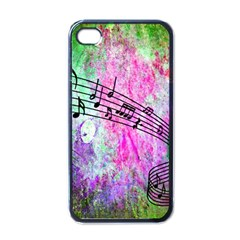 Abstract Music  Apple Iphone 4 Case (black)