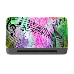 Abstract Music  Memory Card Reader With Cf