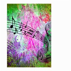 Abstract Music  Small Garden Flag (two Sides)