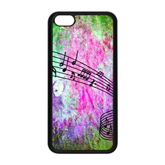 Abstract Music  Apple Iphone 5c Seamless Case (black)