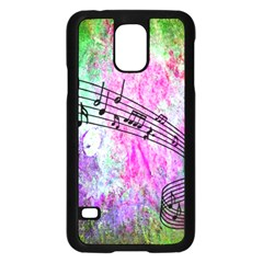 Abstract Music  Samsung Galaxy S5 Case (black)