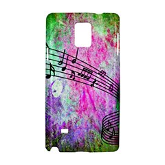 Abstract Music  Samsung Galaxy Note 4 Hardshell Case