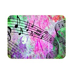 Abstract Music  Double Sided Flano Blanket (Mini)
