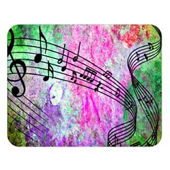 Abstract Music  Double Sided Flano Blanket (large)