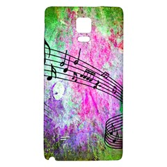 Abstract Music  Galaxy Note 4 Back Case