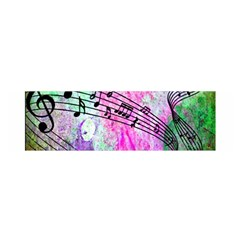 Abstract Music  Satin Scarf (oblong)