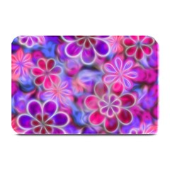 Pretty Floral Painting Plate Mats