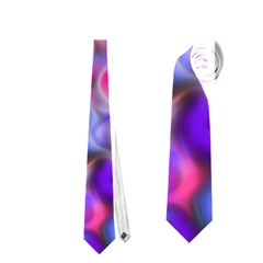 Pretty Floral Painting Neckties (One Side)