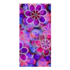 Pretty Floral Painting Shower Curtain 36  x 72  (Stall)