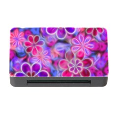 Pretty Floral Painting Memory Card Reader with CF
