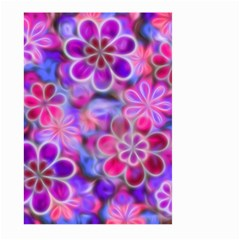 Pretty Floral Painting Large Garden Flag (Two Sides)