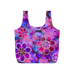 Pretty Floral Painting Full Print Recycle Bags (s)