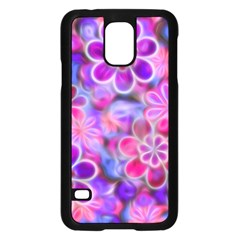 Pretty Floral Painting Samsung Galaxy S5 Case (black)