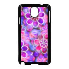 Pretty Floral Painting Samsung Galaxy Note 3 Neo Hardshell Case (Black)