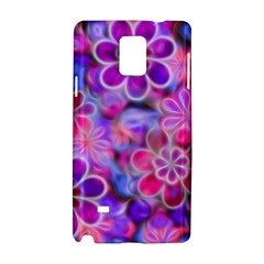 Pretty Floral Painting Samsung Galaxy Note 4 Hardshell Case