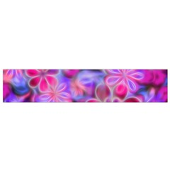 Pretty Floral Painting Flano Scarf (Small)