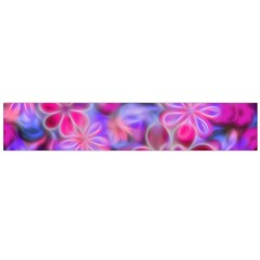 Pretty Floral Painting Flano Scarf (Large)
