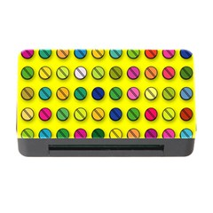Multi Col Pills Pattern Memory Card Reader with CF