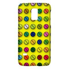 Multi Col Pills Pattern Galaxy S5 Mini