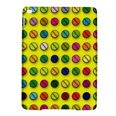 Multi Col Pills Pattern iPad Air 2 Hardshell Cases