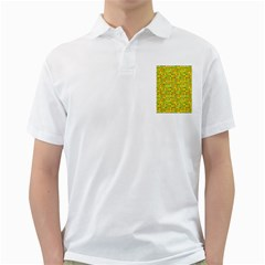 Multi Col Pills Pattern Golf Shirts