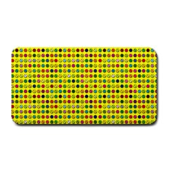 Multi Col Pills Pattern Medium Bar Mats