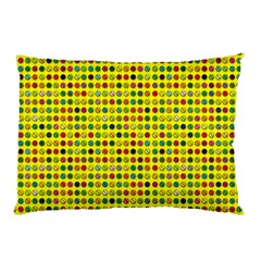 Multi Col Pills Pattern Pillow Cases