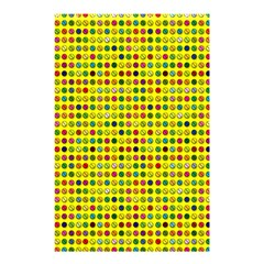 Multi Col Pills Pattern Shower Curtain 48  X 72  (small)