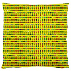 Multi Col Pills Pattern Standard Flano Cushion Cases (Two Sides)