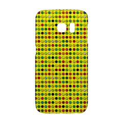 Multi Col Pills Pattern Galaxy S6 Edge