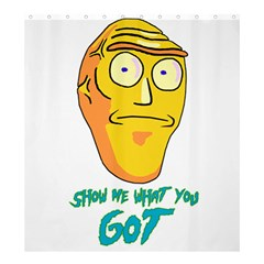 Show Me What You Got New Fresh Shower Curtain 66  x 72  (Large)