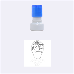 Show Me What You Got New Fresh Rubber Round Stamps (small)