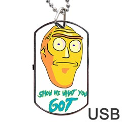 Show Me What You Got New Fresh Dog Tag Usb Flash (two Sides)