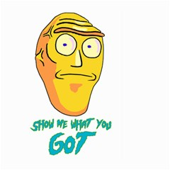 Show Me What You Got New Fresh Large Garden Flag (Two Sides)