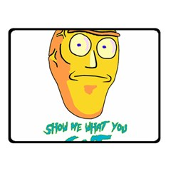 Show Me What You Got New Fresh Double Sided Fleece Blanket (Small)