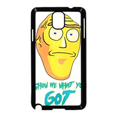 Show Me What You Got New Fresh Samsung Galaxy Note 3 Neo Hardshell Case (black)