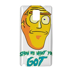 Show Me What You Got New Fresh Samsung Galaxy Note 4 Hardshell Case
