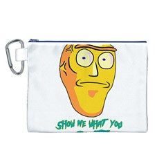 Show Me What You Got New Fresh Canvas Cosmetic Bag (L)