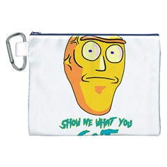 Show Me What You Got New Fresh Canvas Cosmetic Bag (XXL)